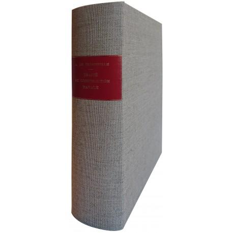 Traité pratique de construction navale - De Fréminville - 1864