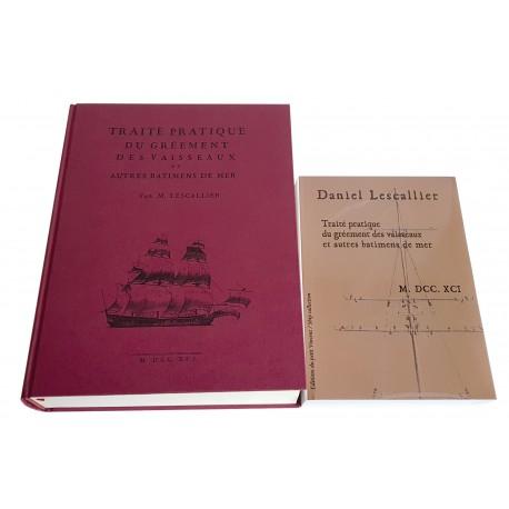 Traité du gréement des vaisseaux - 1791 - Tome I & II