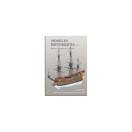 MODELES HISTORIQUES au musée de la marine - TOME 2