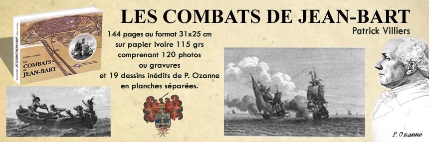 Les combats de Jean Bart - Dessins P. Ozanne