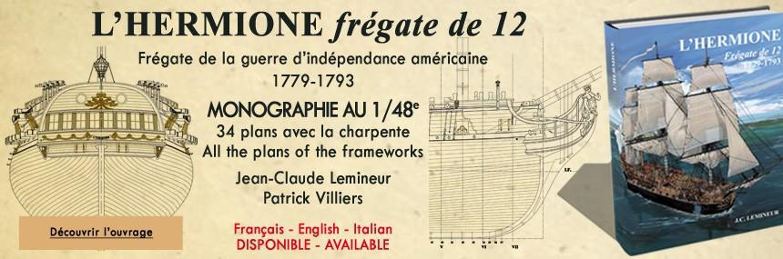 L'HERMIONE Frégate de 12 1779-1793