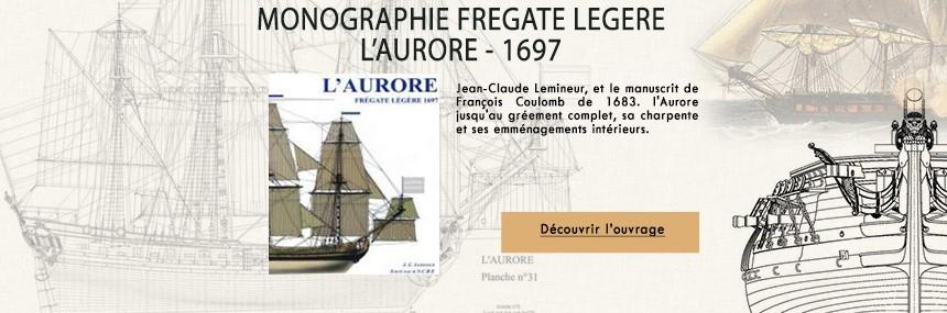 L'aurore, frégate légère - disponible en ITALIEN et FRANCAIS.