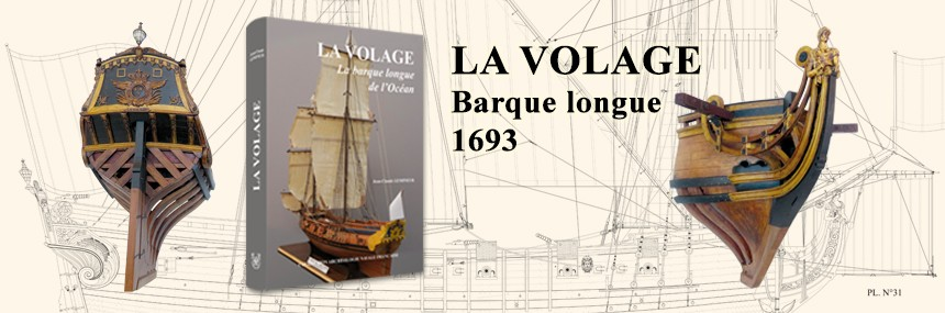 LA VOLAGE – A long bark - 1693