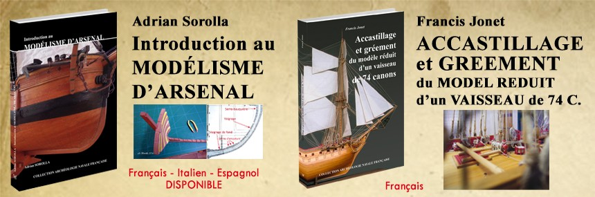Introduction au modélisme d'arsenal et Accastillage