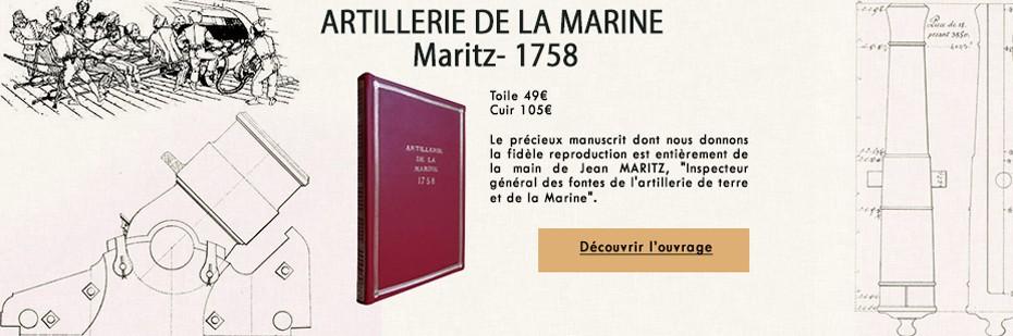Artillerie de marine - VERSION TOILE et PLEIN CUIR